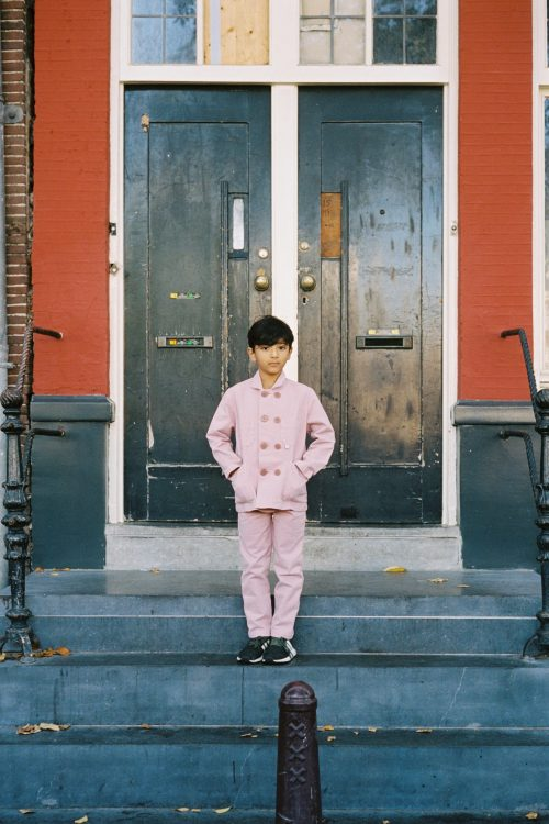 Powder Pink Children's Suit